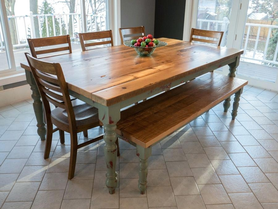English Dining Table Country Oval Oak – Alpenduathlon within Magnolia Home English Country Oval Dining Tables