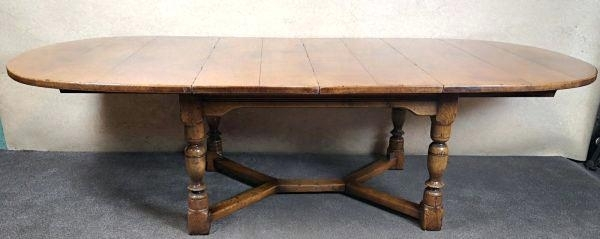 English Dining Table Magnolia Homeroom Country Oval Oak And with regard to Magnolia Home English Country Oval Dining Tables