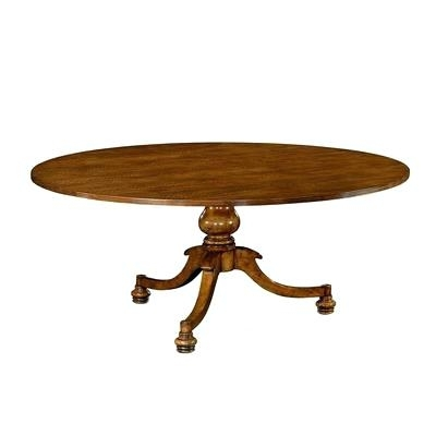 English Dining Table Superb Quality Oak Extending Seats 8 Antique Inside Magnolia Home English Country Oval Dining Tables (View 14 of 25)