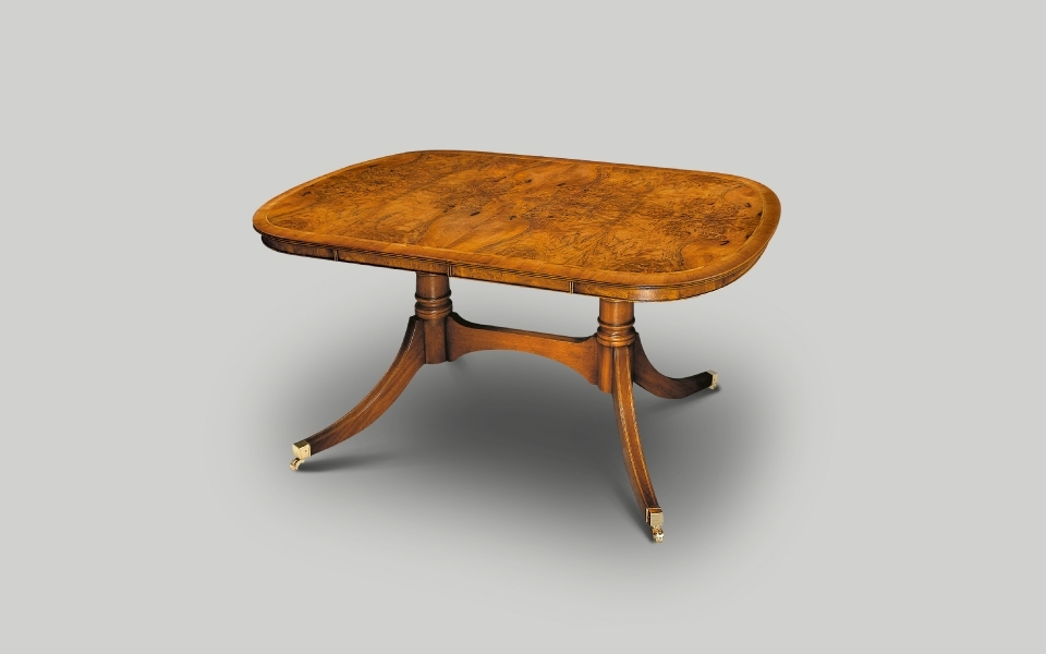 English Reproduction Dining Furniture & Dining Tables Intended For 3Ft Dining Tables (View 16 of 25)