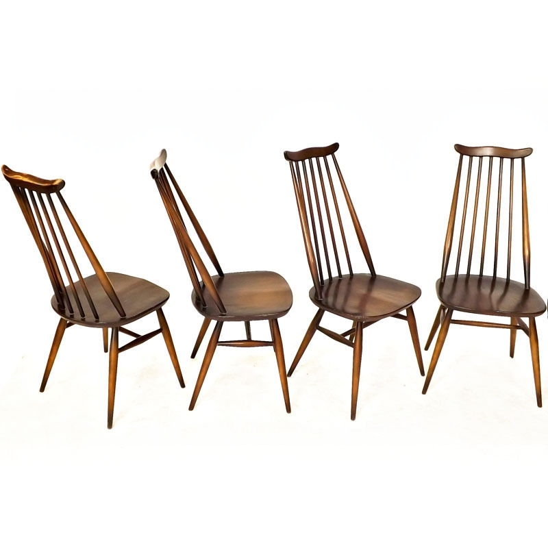 Ercol Chairs | Ebay in Dining Chairs Ebay