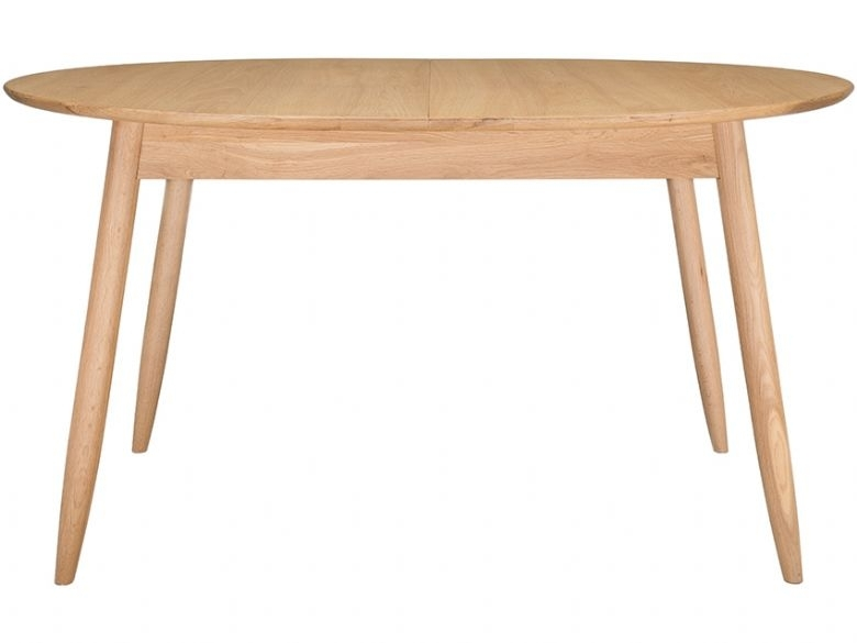 Ercol Teramo Oak Small Extending Dining Table – Lee Longlands Pertaining To Small Extending Dining Tables (Image 8 of 25)