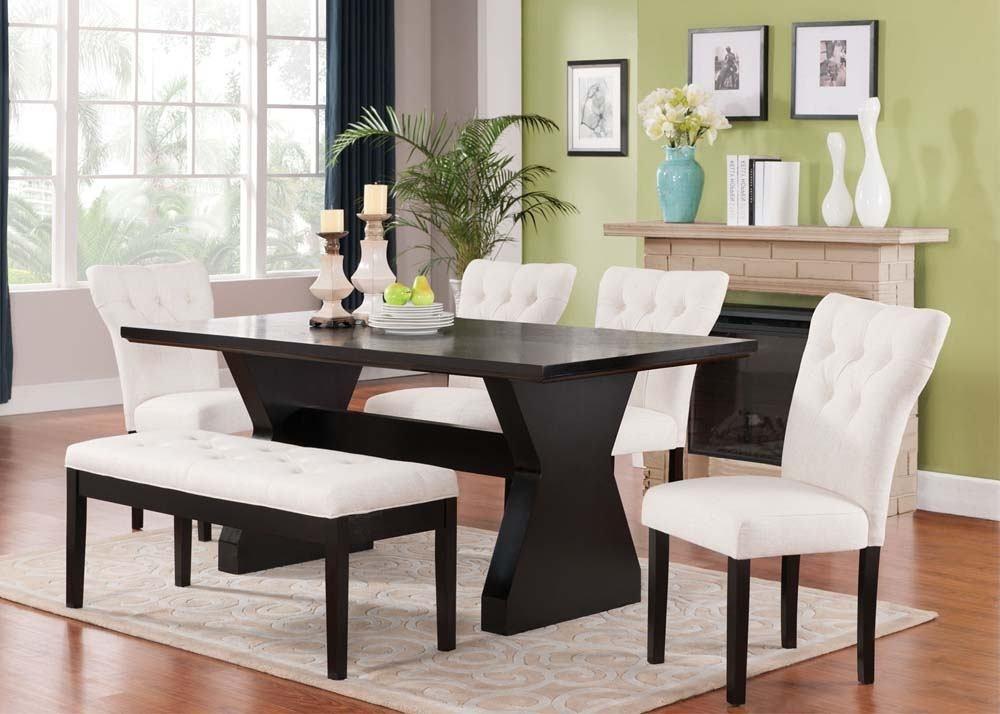 Espresso Rectangular Dining Table - Dining Tables Ideas inside Lindy Espresso Rectangle Dining Tables
