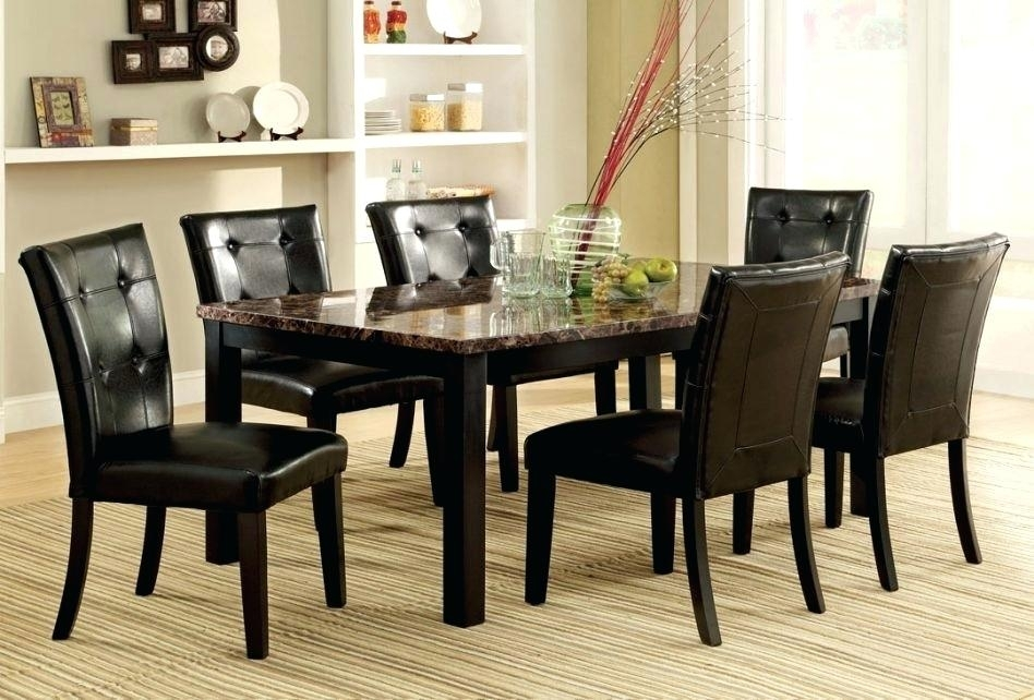 Espresso Round Dining Table Espresso Dining Room Furniture Modern With Regard To Caira Black Round Dining Tables (Image 20 of 25)