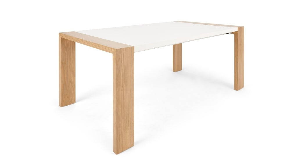Ethan Extending Dining Table , Oak | Made With Extendable Dining Tables (Image 8 of 25)