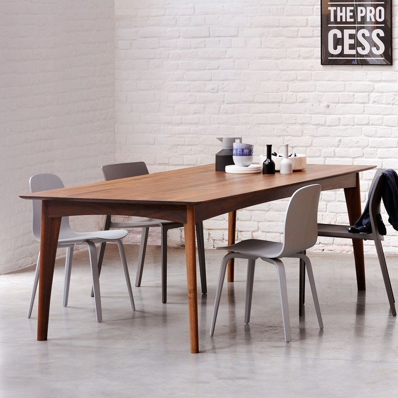 Ethnicraft Walnut Osso Dining Table | Solid Wood Furniture Pertaining To Walnut Dining Tables (Image 7 of 25)