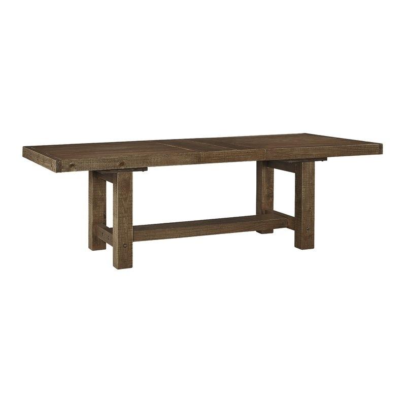 Etolin Extendable Dining Table & Reviews | Joss & Main Pertaining To Extendable Dining Tables (Image 9 of 25)