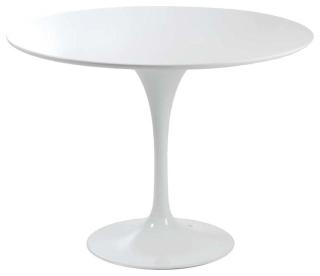 Eurostyle Eurostyle Astrid Round Pedestal Dining Table Antique White With Small Round White Dining Tables (View 18 of 25)