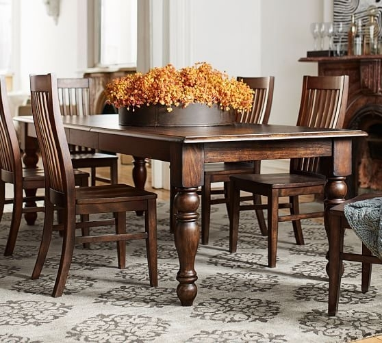 Evelyn Extending Rectangular Dining Table | Delish! | Pinterest with regard to Candice Ii 7 Piece Extension Rectangle Dining Sets