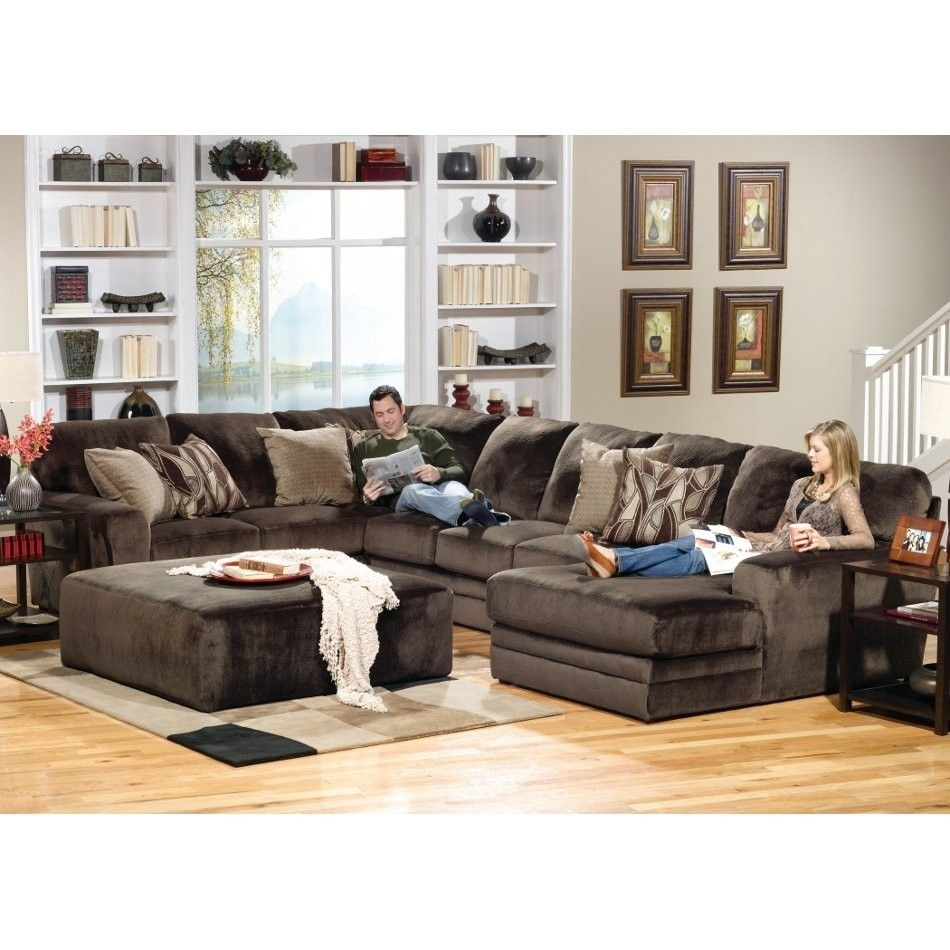 Everest Living Room Sectional Piece | Right Side Facing Chaise Intended For Norfolk Chocolate 6 Piece Sectionals With Raf Chaise (Image 9 of 25)