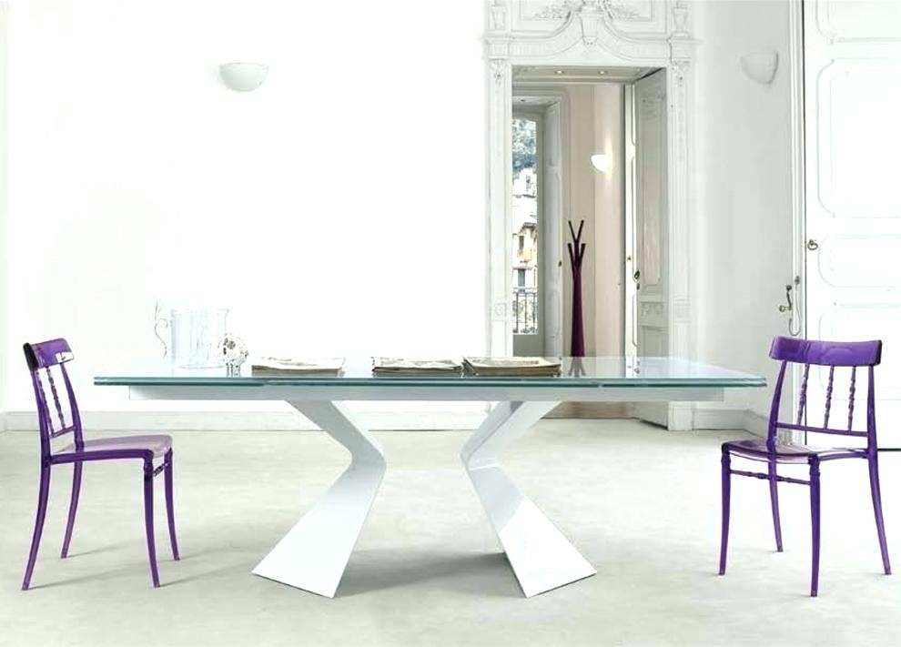 Expandable Glass Dining Room Table Dining Room Rectangular Glass with regard to Extendable Glass Dining Tables