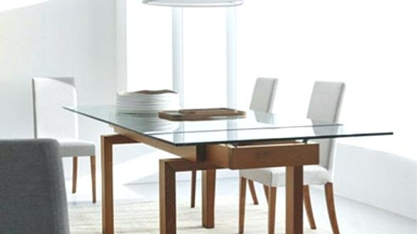 Expandable Glass Dining Table Banner Toronto – Chann Throughout Extendable Glass Dining Tables (Image 7 of 25)
