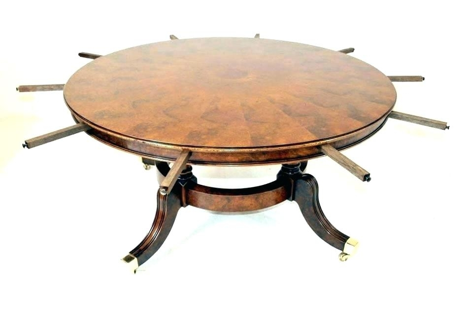 Expandable Round Dining Table Expandable Round Table Extendable within Extendable Round Dining Tables