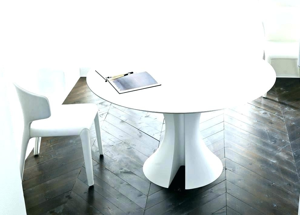 Expandable Round Dining Table Modern White Round Table Unique Dining For White Circle Dining Tables (View 13 of 25)