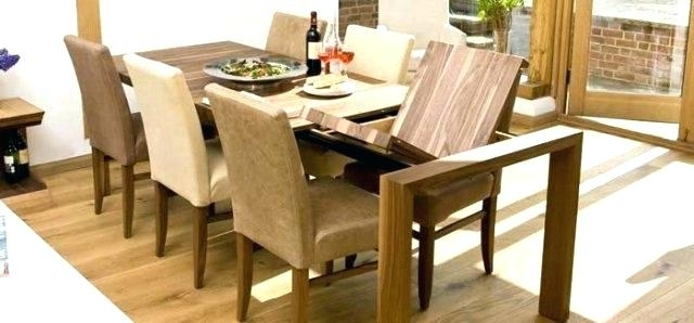 Extendable Dining Room Sets Contemporary Dining Tables Extendable throughout Extendable Dining Sets