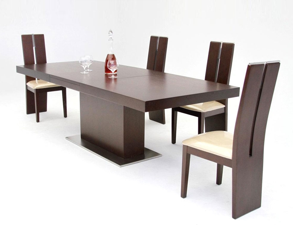 Extendable Dining Table 84 | Modern Dining Regarding Extendable Dining Tables Sets (View 19 of 25)