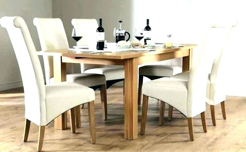 Extendable Dining Table And Chairs Extending Dark Wood Dining Table In Round Extending Oak Dining Tables And Chairs (Image 6 of 25)