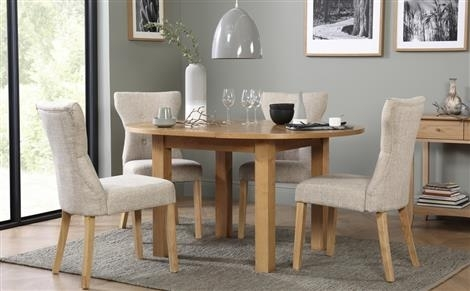 Extendable Dining Table & Chairs – Extending Dining Sets | Furniture Intended For Extending Dining Tables Set (Image 10 of 25)