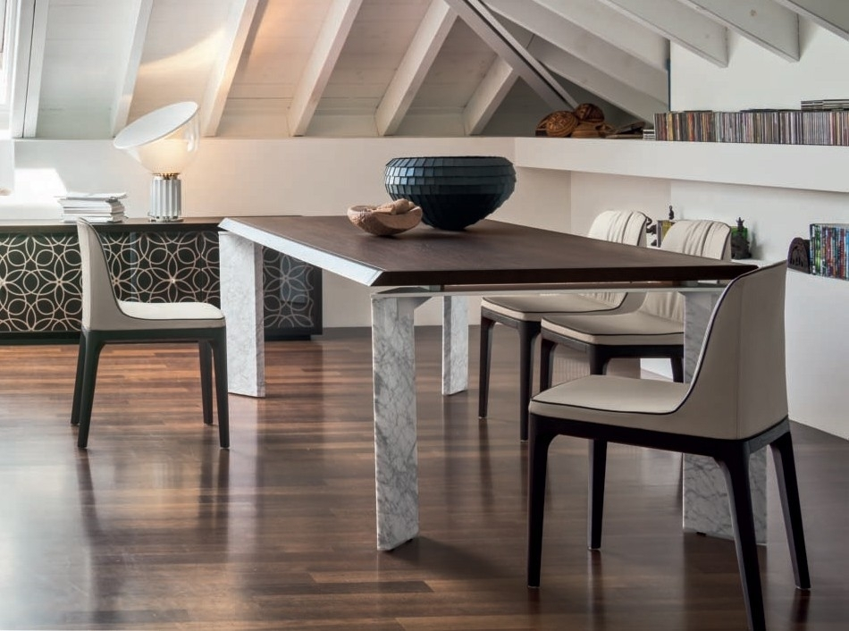 Extendable Dining Table Romatonin Casa Intended For Roma Dining Tables (Image 6 of 25)
