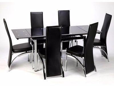 Extendable Dining Table With 6 Chairs Price From Konga In Nigeria Pertaining To Glass Extendable Dining Tables And 6 Chairs (View 11 of 25)