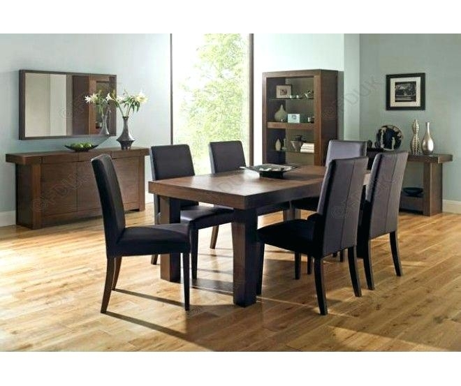 Extendable Dining Table With 6 Chairs Solid Oak Extending Round Inside Extendable Dining Tables And 6 Chairs (Image 14 of 25)