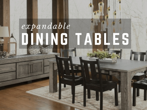Extendable Dining Tables | Large Dining Tables With Leaves Within Combs Extension Dining Tables (Image 19 of 25)