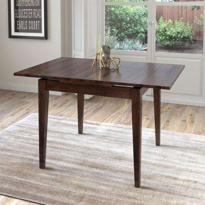 Extendable – Square – Dining Table – Kitchen & Dining Tables In Square Extendable Dining Tables (View 4 of 25)