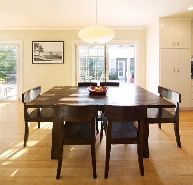 Extendable Square Dining Tables Contemporary Dining Room Intended For Square Extendable Dining Tables (View 10 of 25)