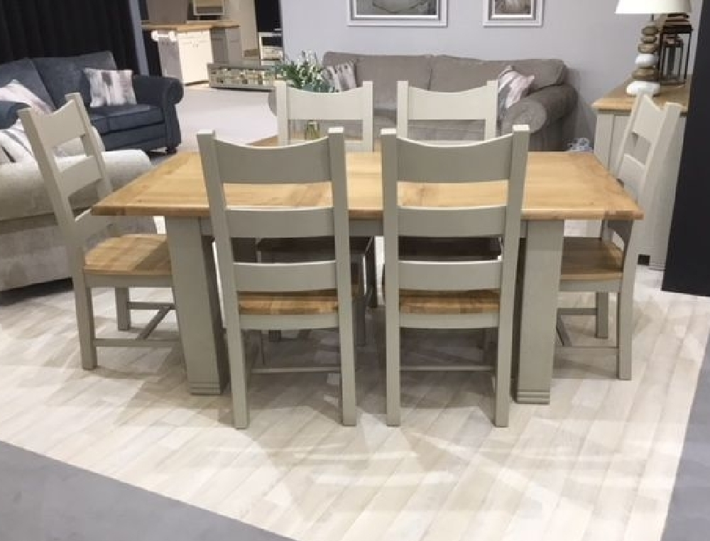 Extending Dining Table 1400/1800 Logan | Tadhg O'connor Furniture With Logan Dining Tables (Image 5 of 25)