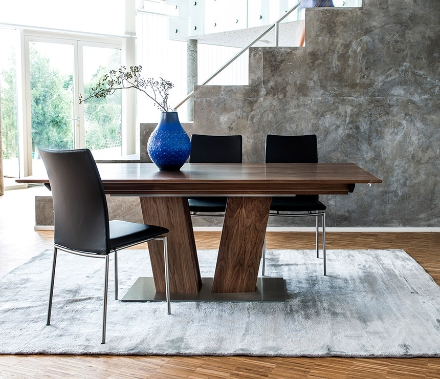 Extending Dining Table | A13739 | Wharfside Danish Furniture Throughout Extendable Dining Tables And Chairs (View 25 of 25)