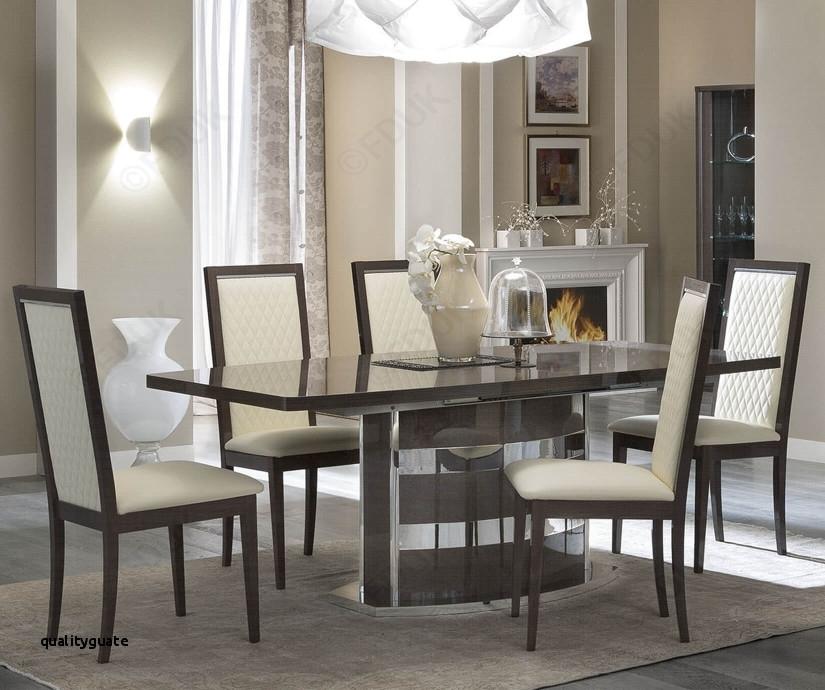 Extending Dining Table And 6 Chairs New Camel Group Platinum for Mallard Extension Dining Tables