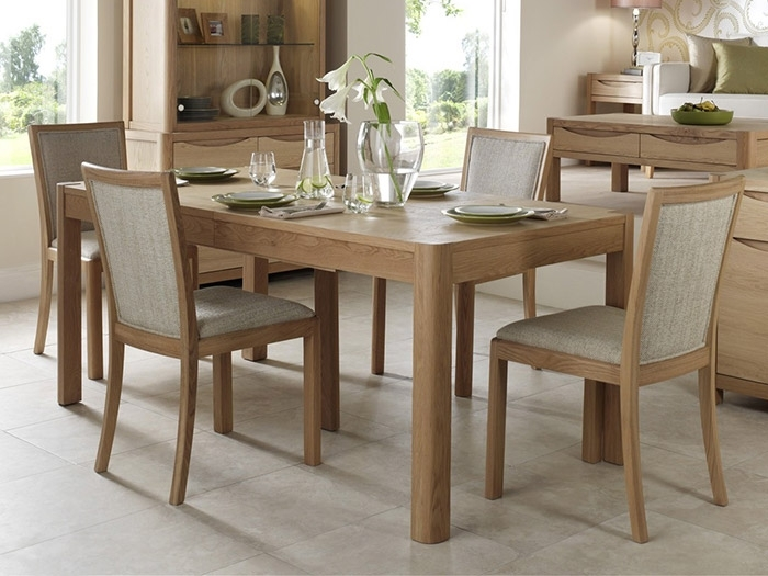 Extending Dining Table And 6 Dining Chairs From The Denver in Extendable Dining Sets