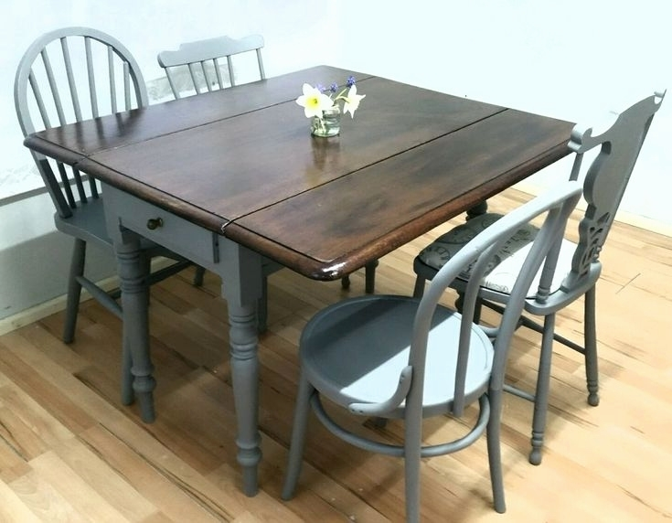 Extending Dining Table And Chairs Sale Fresh 70 Best Old Drop Leaf Regarding Drop Leaf Extendable Dining Tables (Image 12 of 25)