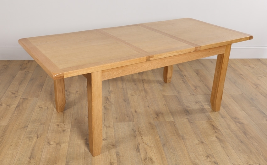 Extending Dining Table: Right To Have It In Your Dining Room Intended For Oak Extending Dining Sets (Image 8 of 25)