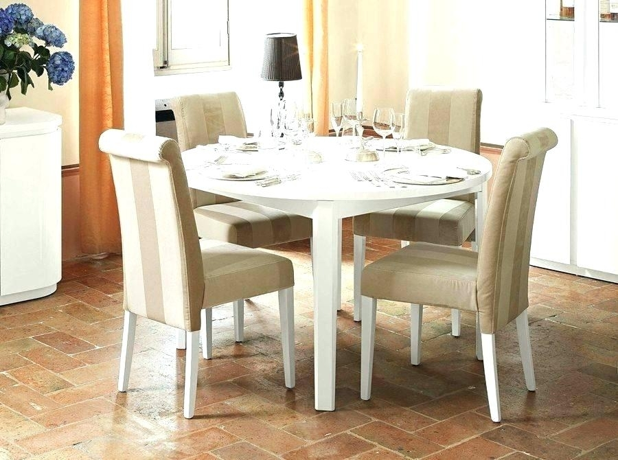Extending Dining Table Sets White Round Extending Dining Table Round Intended For Round Extending Dining Tables Sets (Photo 25 of 25)