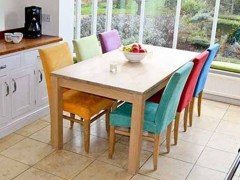 Extending Dining Tables In Solid Oak / Walnut, Contemporary Tables With Regard To Extending Oak Dining Tables (Image 5 of 25)