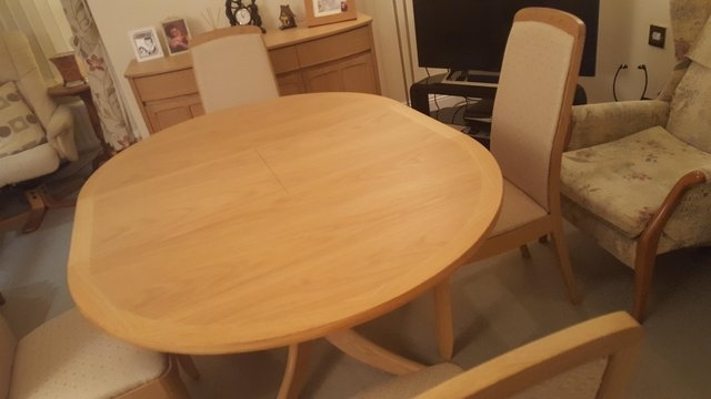 Extending Dining Tables – Second Hand Household Furniture, Buy And Throughout Walden Extension Dining Tables (Image 6 of 25)