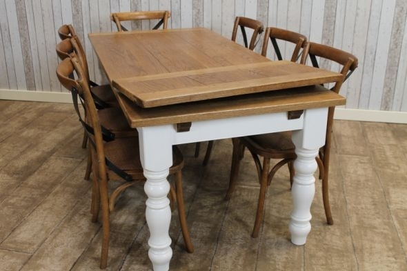 Extending Farmhouse Table | Peppermill Interiors for Extending Oak Dining Tables