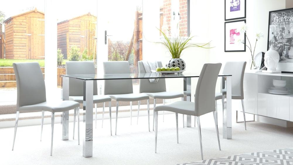 Extending Glass Top Dining Table Set Rectangular Glass Dining Table throughout Extending Glass Dining Tables and 8 Chairs