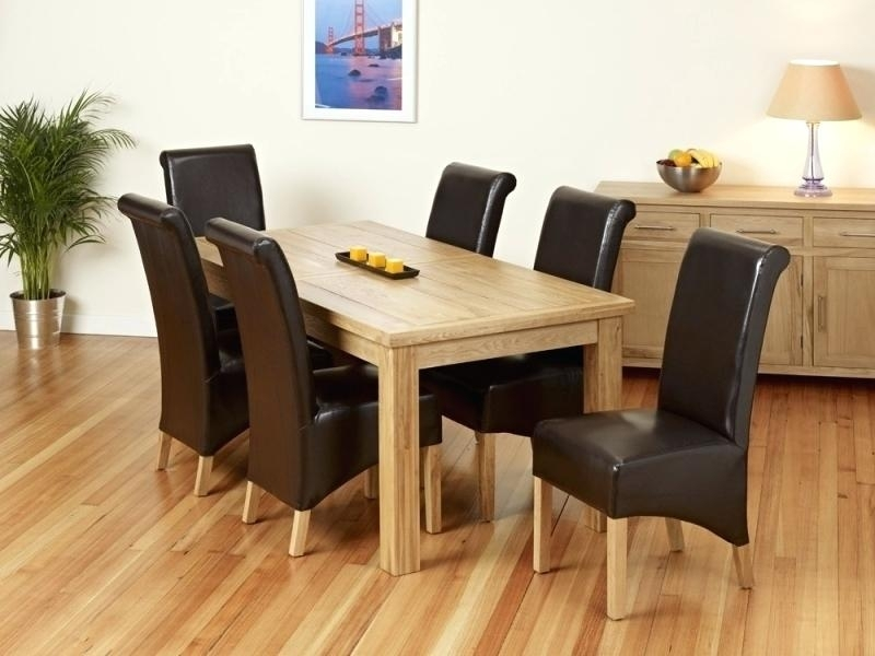 Extending Oak Dining Table And 8 Chairs Solid 4 Round Regarding Inside Oak Extending Dining Tables And 8 Chairs (View 25 of 25)