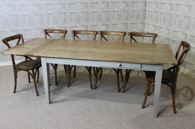 Extending Oak Dining Table Country Farmhouse Extending Oak Table with regard to Extending Oak Dining Tables