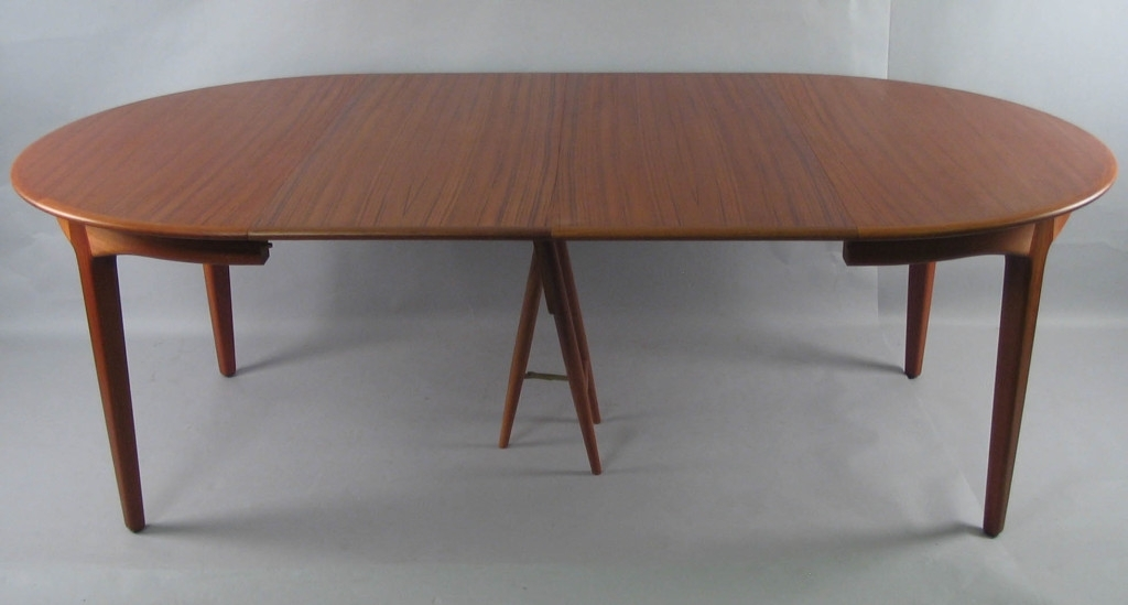 Extension Round Dining Table – Parson (Image 6 of 25)