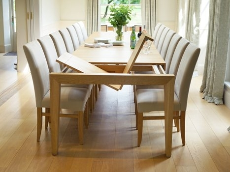 Extra Large Dining Tables (Image 5 of 25)