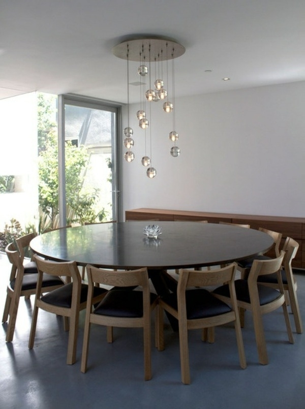 Extra Large Round Dining Room Tables – Xuyuan Tables Inside Huge Round Dining Tables (Image 10 of 25)