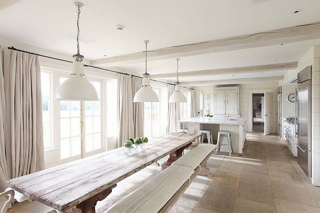Extra Long Dining | Ideas For The House | Pinterest | Dining, Dining Pertaining To Long Dining Tables (Image 6 of 25)