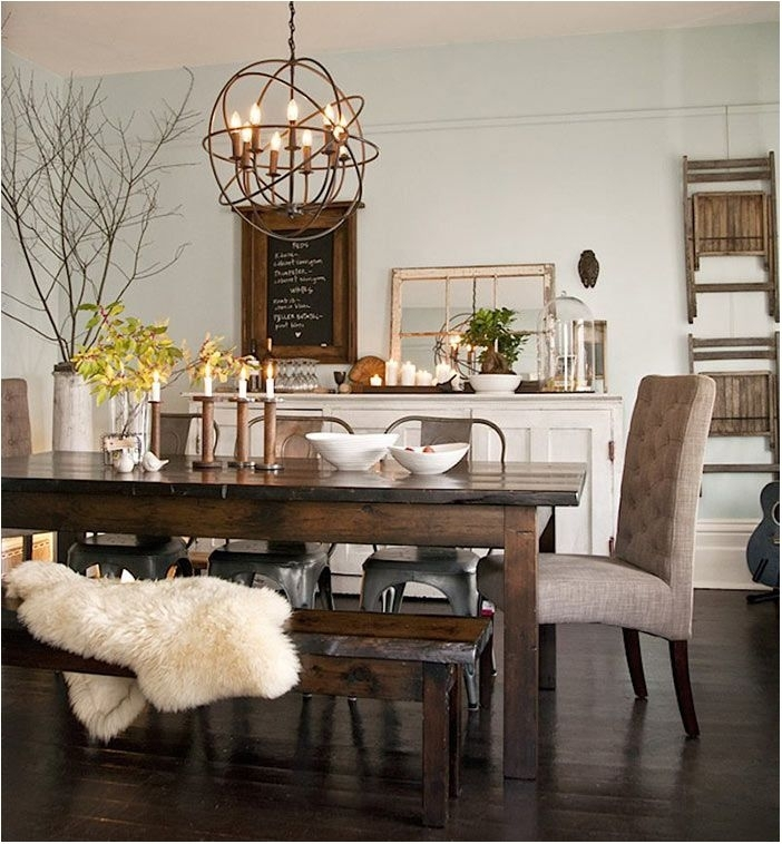 Extraordinary Stunning Dark Wood Dining Table With Bench Best 25 In Dark Dining Room Tables (Image 19 of 25)