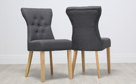 Fabric Dining Chairs – Buy Upholstered Dining Chairs Online Inside Fabric Dining Chairs (Image 11 of 25)