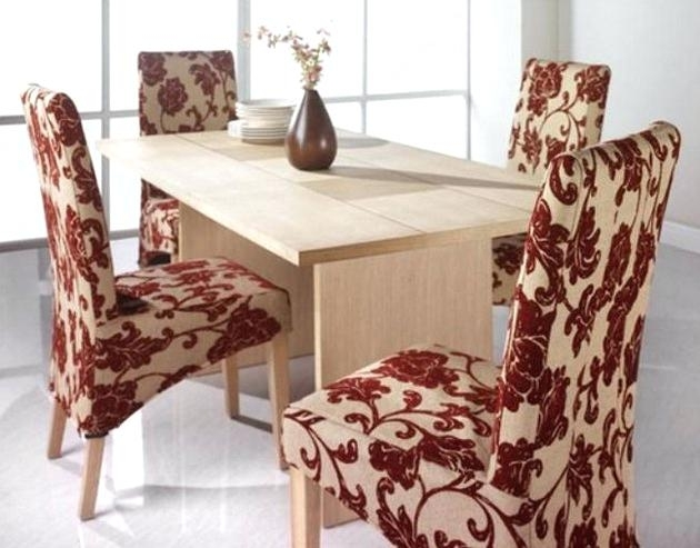 Fabric Dining Room Chairs Dining Room Chair Fabric Ideas For With Regard To Fabric Dining Room Chairs (Image 8 of 25)