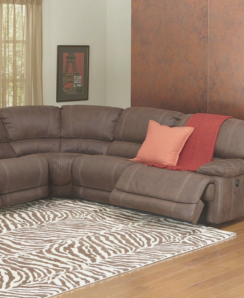 Fabric Sectional Sofa With Power Recliner | Baci Living Room For Declan 3 Piece Power Reclining Sectionals With Left Facing Console Loveseat (Image 5 of 25)