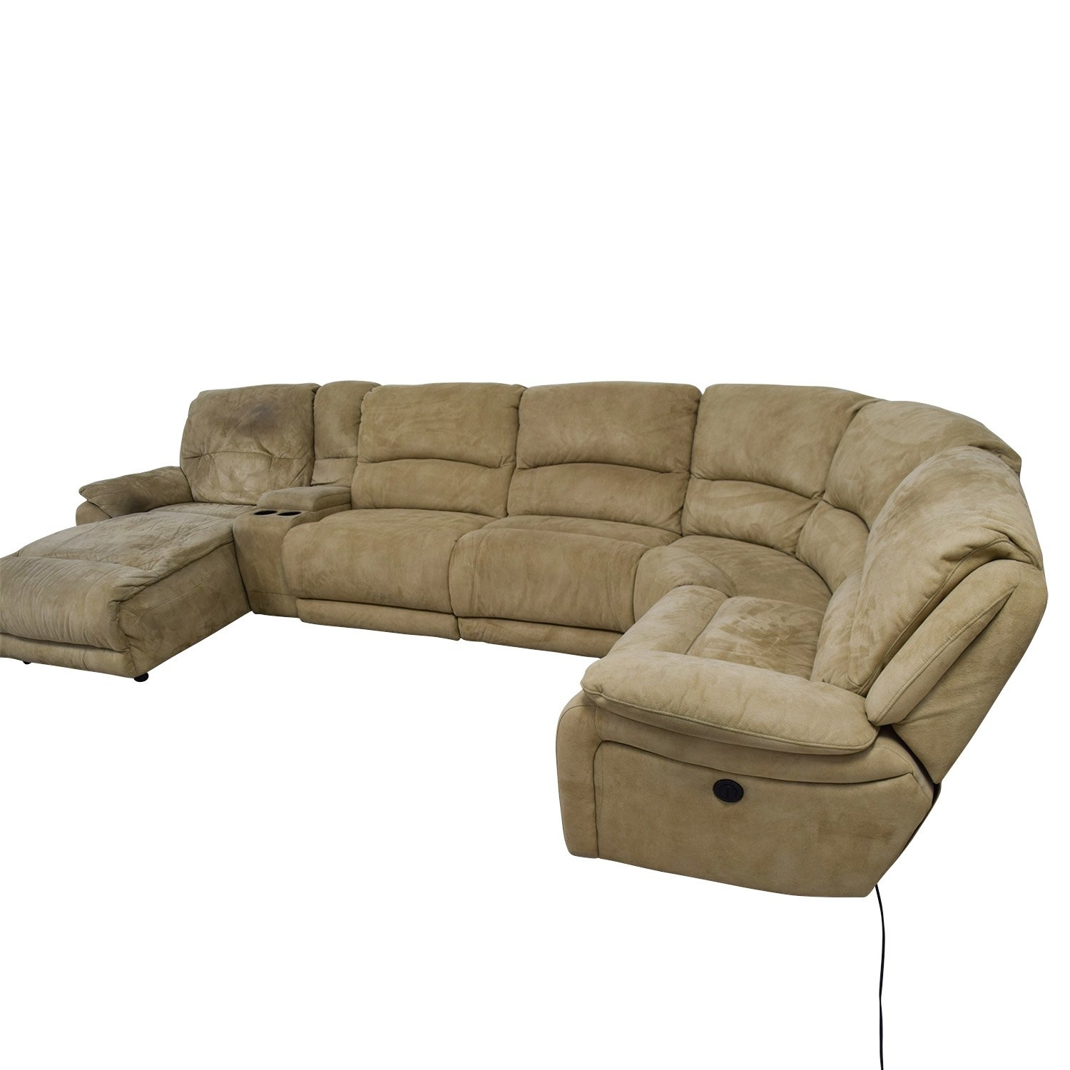 Fabulous 25 Power Reclining Sectional Sofa Favorite In Calder Grey 6 Piece Manual Reclining Sectionals (Image 9 of 25)